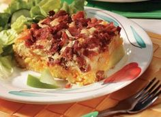 Cheesy Apple-Bacon Brunch