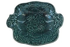 English Green  Majolica Platter on OneKingsLane.com