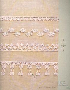 Crochetpedia: Crochet Books Online - A few patterns for border making~