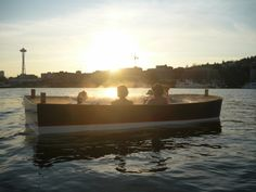 "This cool thing to do falls into the ""why didn't someone think of that earlier?"" category. Coming to Seattle's Lake Union this summer is Hot Tub Boats!    These small electric boats can cruise the calm waters of Lake Union with 6 people (8 when docked) and come outfitted with coolers, of course."