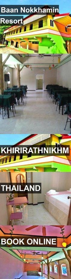 Hotel Baan Nokkhamin Resort in khirirathnikhm, Thailand. For more information, photos, reviews and best prices please follow the link. #Thailand #khirirathnikhm #travel #vacation #hotel
