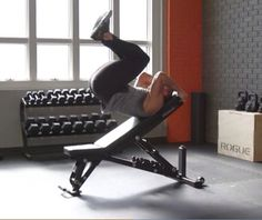 How to do the Incline Reverse Bench Crunch | Men's Health