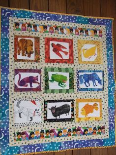 O'Quilts: Brown Bear for my grandchildren