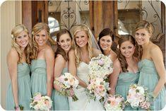 Dusty Shale JCrew Bridesmaid dresses
