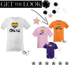 """""""Camiseta Orgullo Gay 2 Ole tú"""" by oletuleon on Polyvore"""