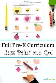 Pre-K Curriculum Pack