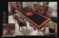 Masívní dřevěný nábytek do jídelny Ceppi Style, kompletní nabídku této značky naleznete na našich webových stránkách: http://www.saloncardinal.com/galerie-ceppi-style-bdb