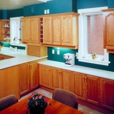 How To Restain Oak Cabinets