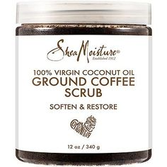 SheaMoisture - Coconut Oil Coffee Scrub in Coconut Oil Lotion, Coconut Oil Coffee, Coconut Oil For Teeth, Natural Coconut Oil, Coconut Oil Pulling, Coconut Oil Hair Mask, Coconut Oil Uses, Benefits Of Coconut Oil, Organic Coconut Oil