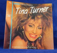 Vintage 1985 Tina Turner (Anabas Look Book Series)  Written by Roger St Pierre Gatwick Press England by InGrammasAttic on Etsy