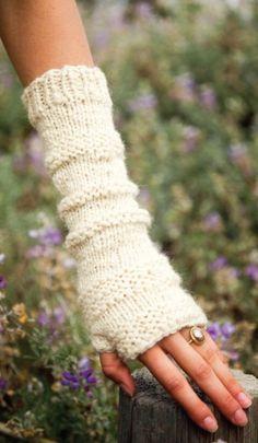 Fingerloser Handschuh