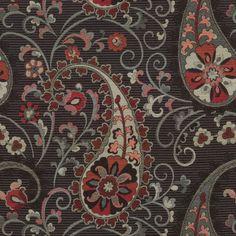 Home Decor Print Fabric- Waverly Sanctuary Swirl Graphite, , hi-res Online Craft Store, Craft Stores, Home Decor Fabric, Fabric Crafts, Paisley Wallpaper, Joann Fabrics, Graphite, Diy Furniture, Printing On Fabric