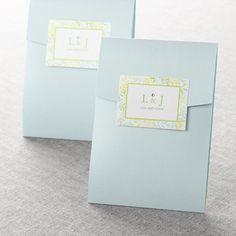 Natural Attraction Wedding Invitations (Envelopes)