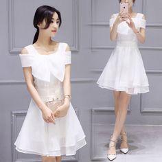 Đầm nữ ngắn tay thời trang, kiểu dáng tự tin, phong cách hiện đại