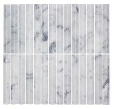 Range of finger mosaic or kit kat tiles Brick Look Tile, Concrete Look Tile, Marble Look Tile, Stone Look Tile, Stone Feature Wall, Feature Tiles, Vinyl Tiles, Wall Tiles, Tile Showroom