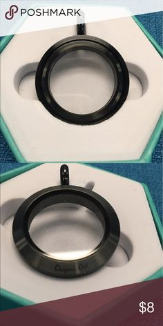 Origami Owl Black Medium BASE ONLY Authentic Origami Owl Black Medium BASE ONLY.  You will need to purchase a Medium Face to complete your Locket. Origami Owl Jewelry Necklaces