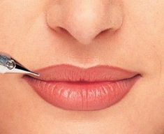 Beauitful permanent makeup lips