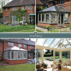 A Edwardian conservatory for our client in Buckinghamshire; a natural extension of their original living space.