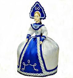 "Tea cosy ""Russian Doll"", Teapot, Nun by KubanMotiv on Etsy"