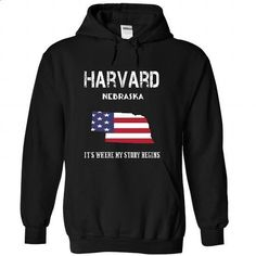 HARVARD-- Its Where My Story Begins! - #checked shirt #tshirt style. PURCHASE NOW => https://www.sunfrog.com/No-Category/HARVARD--Its-Where-My-Story-Begins-8986-Black-21693599-Hoodie.html?68278