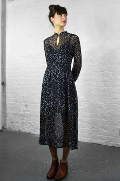 Baum Und Pferdgarten Agatha Night Grid Dress