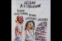 Séisme en Italie: la ville d'Amatrice attaque en justice Charlie Hebdo. - soirmag.be