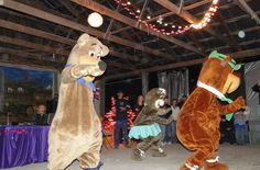 Have you ever seen bears dance? If you haven't, come to Jellystone Marion and get down on the dance floor with Yogi, Boo Boo, and Cindy!!
