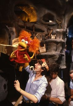 Take the Fraggles' advice and throw your cares away every Tuesday at 10|9c! Jim Henson's Creature Shop Challenge on #Syfy.