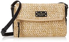 kate spade new york Cobble Hill Straw Mini Carson Cross Body Bag, Natural/Black, One Size kate spade new york http://www.amazon.com/dp/B00S9PWJ52/ref=cm_sw_r_pi_dp_TNWfvb0JVM0MR