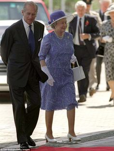 The Queen And Prince Philip Arriving For The Chogm (commonwealth Heads Of Government Meeting) Opening Ceremony At The International Convention Centre, Durban, South Africa on November 12