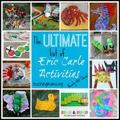 Today is Eric Carle's birthday! In case you don't know who I'm talking about, he is the author of many beloved children's books. In honor of his birthday (and to provide you with an awesome resourc...