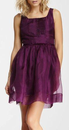 Elizabeth and James Sarafina Sleeveless Silk Dress