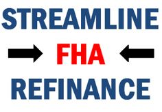 Now get FHA streamline mortgage at new low rates. Apply online at real-estate-yogi.com