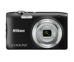 Nikon Coolpix S2900 Point and Shoot Digital Camera with 5x Optical Zoom (Black) International Version No Warranty