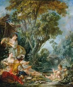 Titre de l'image : François Boucher - The Angler