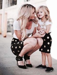 Imagen de daughter, mom, and mommy