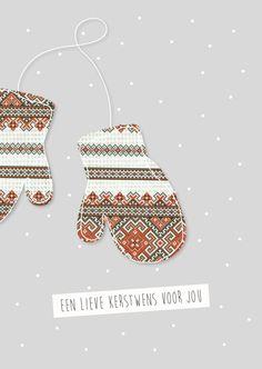 Kerstkaartje / www.jenniferscheffer.nl