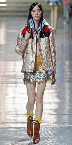 Runway Looks We Love: Our 100 Favorite Looks from London, Milan, and Paris Fashion Week Fall/Winter 2014 - Miu Miu: Paris from #InStyle