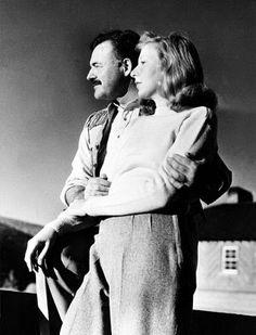 Martha Gellhorn with Hemingway