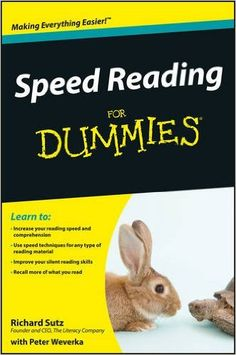 Speed Reading for Dummies: Amazon.es: Richard Sutz, Peter Weverka: Libros en idiomas extranjeros