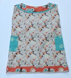 birchfabrics: Free Pattern & Tutorial: Boatneck Shift Dress {by Blooms and Bugs}