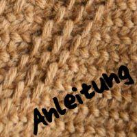 Alvis Handarbeiten: Musterstich beim Nadelbinden