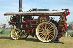 Burrell scenic showmans engine lord lascelles