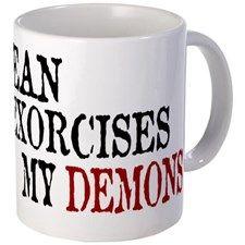 Dean Exorcises Demons Mug