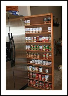 tall small cabinet for cans