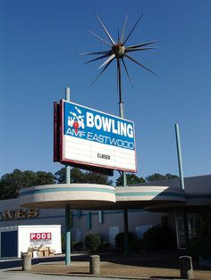 Eastwood Mall Bowling Sign by esywlkr, via Flickr