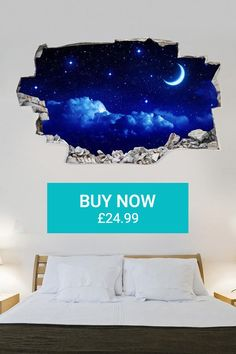 3D-Vinyl Wall Sticker (Evening Sky) - £24.99