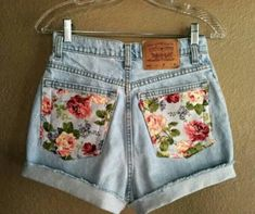 A cute detail to little (or big) girl's shorts or pants