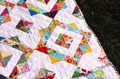 Lynnebobsquarepants block - lovely!