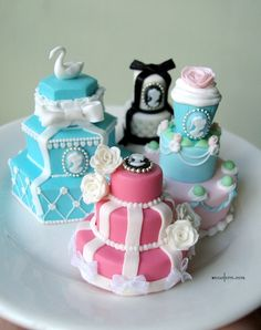 Glorious tower cakes by ~Snowfern on deviantART